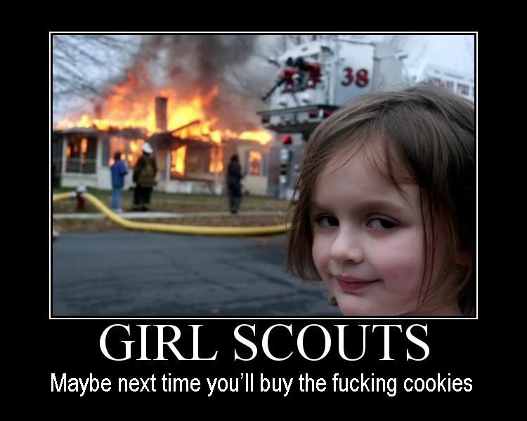 Girl Scout Motivational Poster