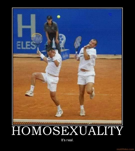 Homosexuality Demotivational Poster