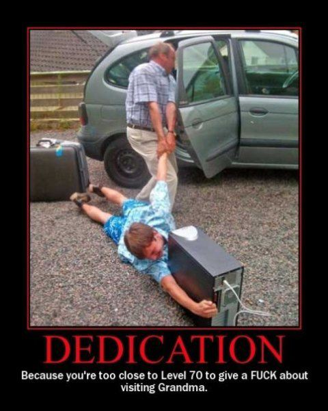 Dedication DeMotivational Posters