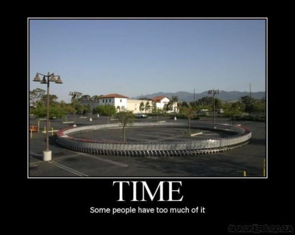 Time DeMotivational Posters