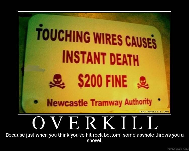 OverKill DeMotivational Posters