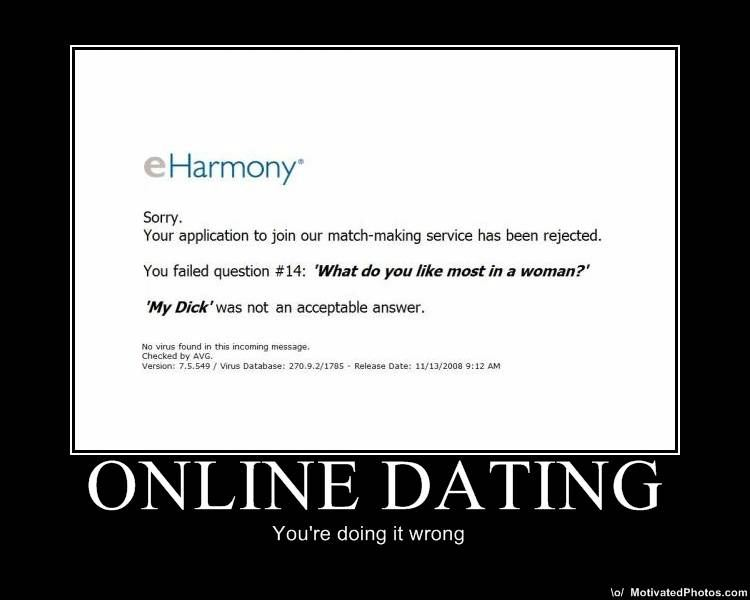 Online Dating DeMotivational Posters