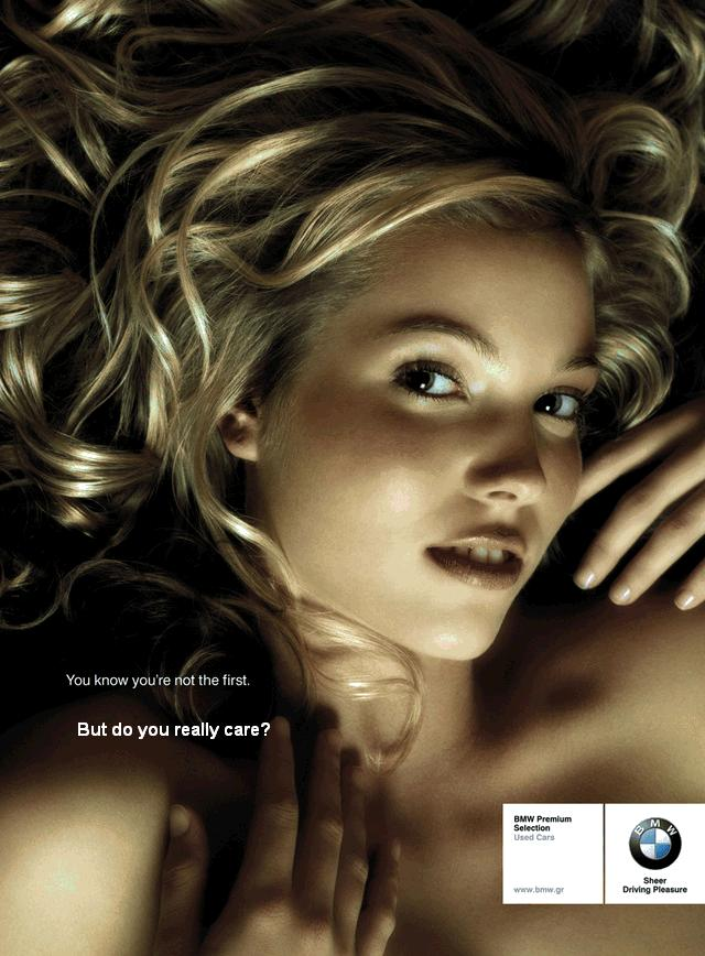 BMW Used Car Advertisement