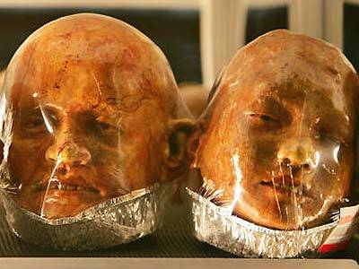 Human Head Bread