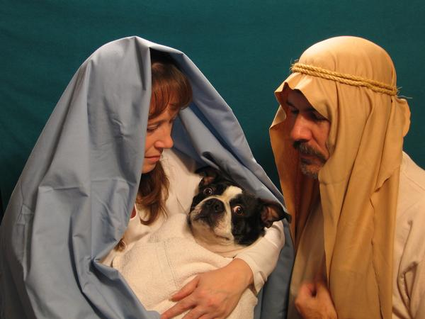 Who the heck stole Baby Jesus